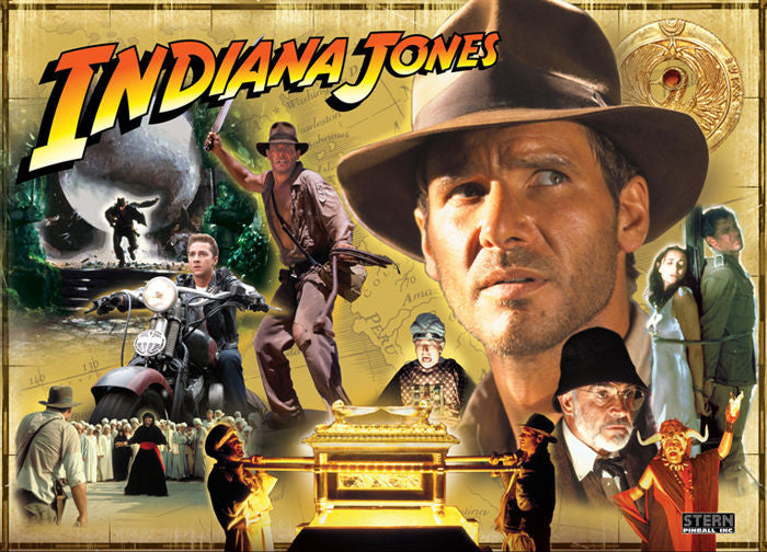 Indiana Jones Pinball Interactive Back Box Light Kit