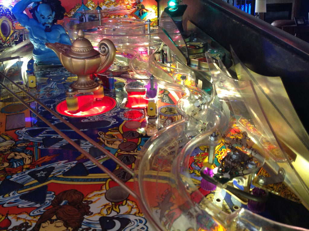 Tales of the Arabian Nights Pinball Bazaar Hole LED - Mezel Mods  - 2