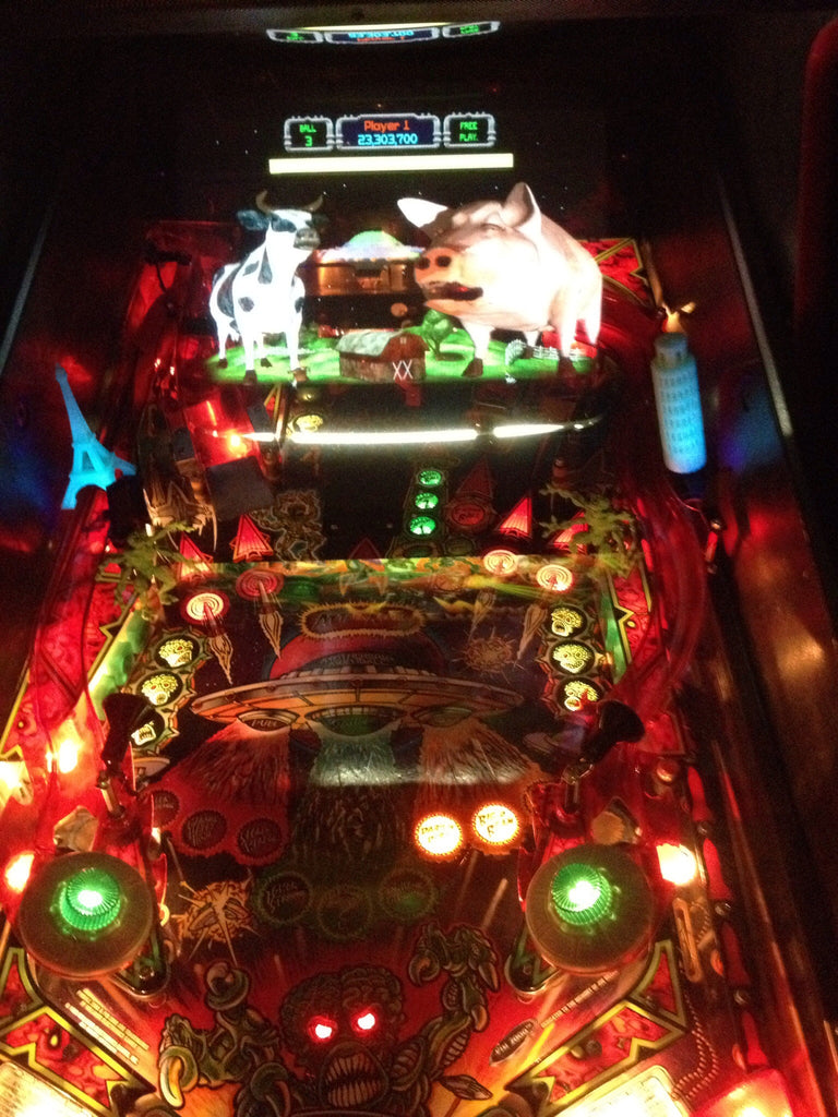 Revenge from Mars Pinball Leaning Tower of Pisa - Mezel Mods  - 3