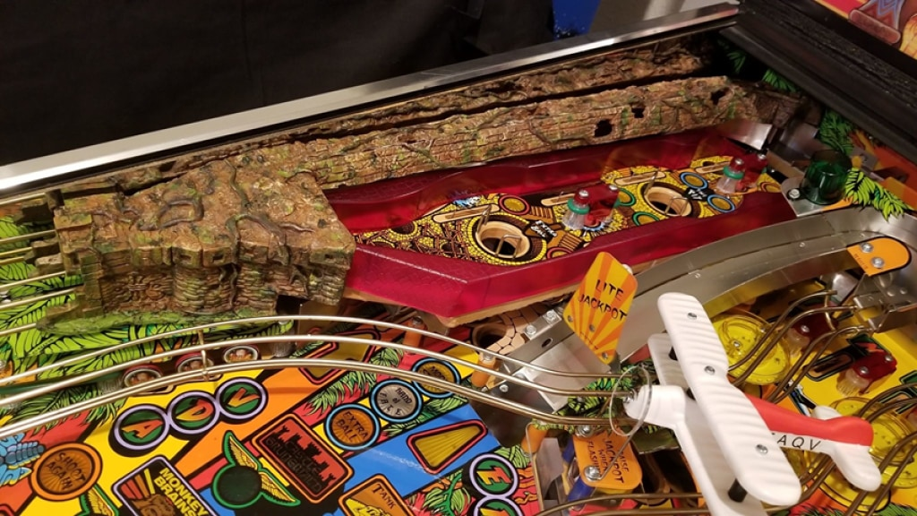 Indiana Jones Pinball Path Of Adventure Ramp Cover Playfield Accessories