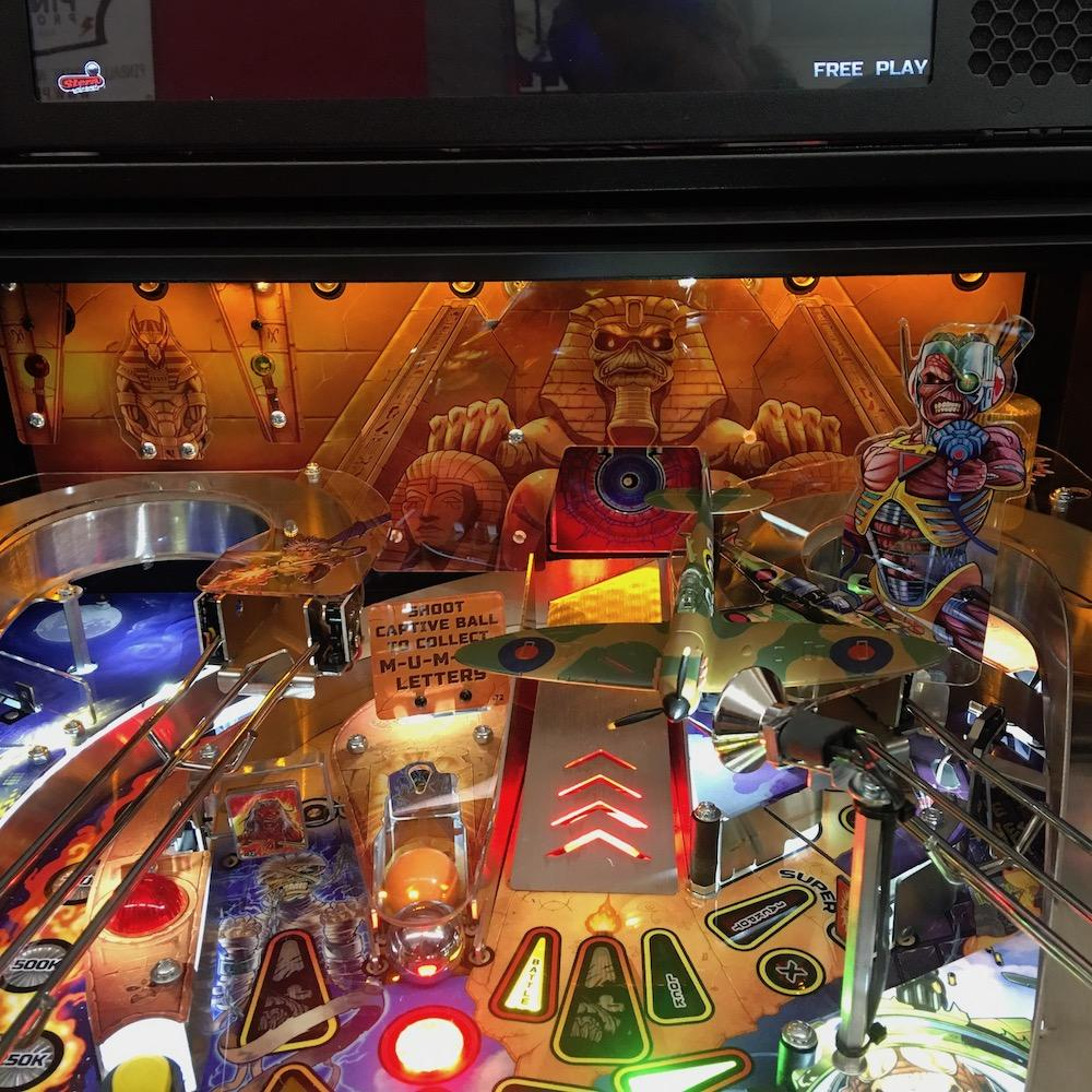 Iron Maiden Legacy Pinball Backboard Illumination