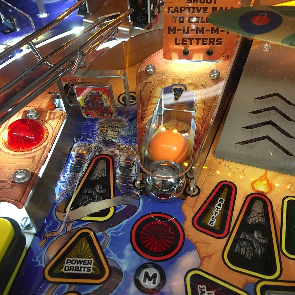 Iron Maiden Legacy Pinball Captive Ball