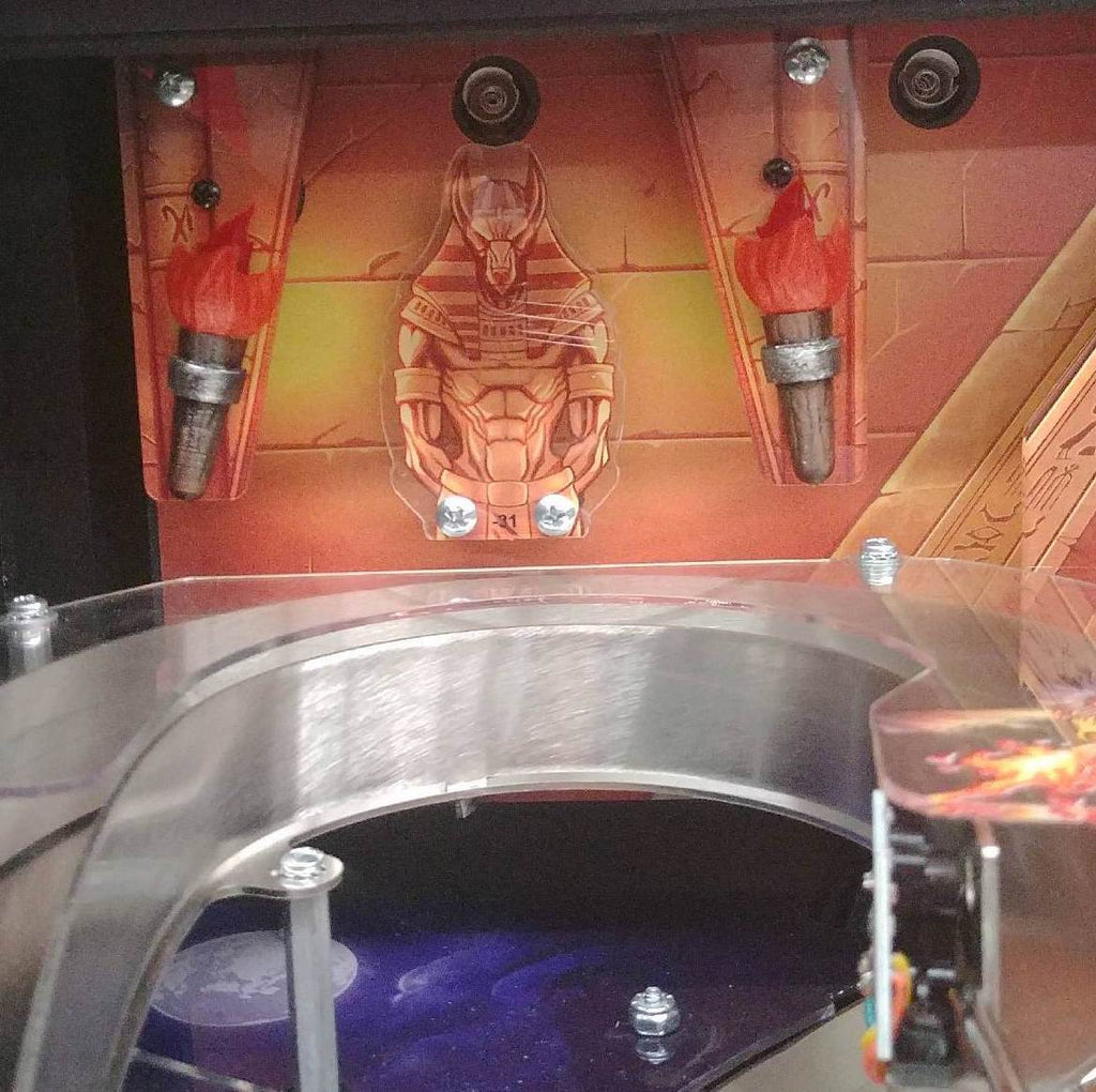 Iron Maiden Pinball Torches