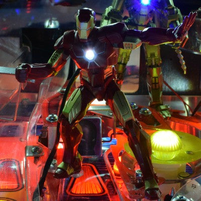 Iron Man Pinball Illuminated Iron Man - Mezel Mods  - 1