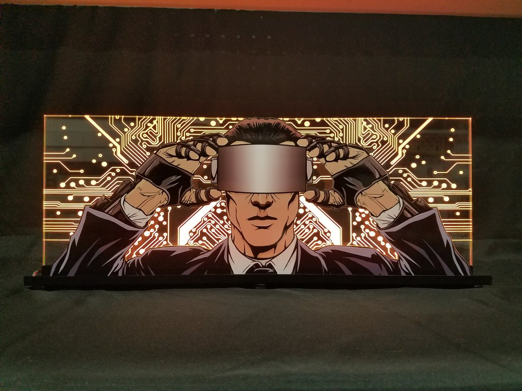 Johnny Mnemonic Pinball Topper