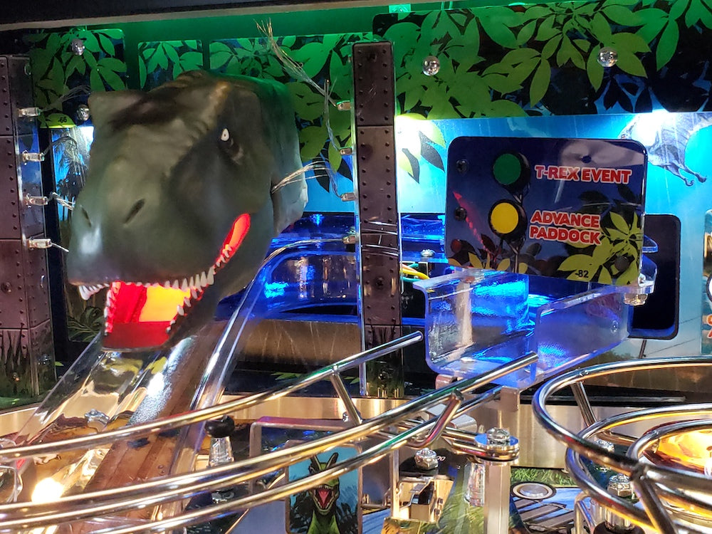 Jurassic Park Pinball Ramp Illumination Kit