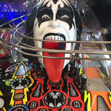 Kiss Pinball Demon Head Illuminated Mouth - Mezel Mods  - 1