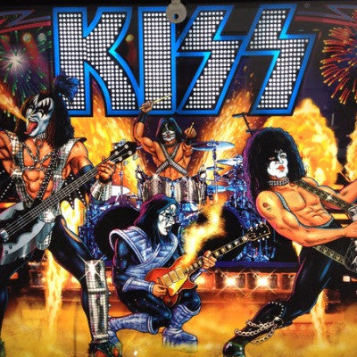KISS Pinball Interactive Backbox Lighting - Mezel Mods  - 1