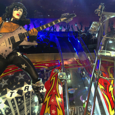 Kiss Pinball Ramp Illumination - Mezel Mods