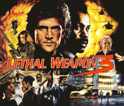 Lethal Weapon 3 pinball