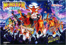 Monster Bash Pinball Interactive Under-cabinet Light Kit