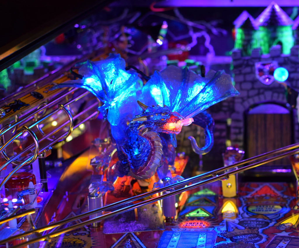 Medieval Madness Pinball Dragon - Mezel Mods  - 3