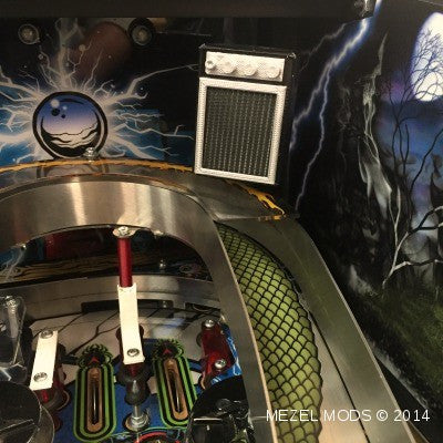 Metallica Pinball Flashing Speakers - Mezel Mods  - 1