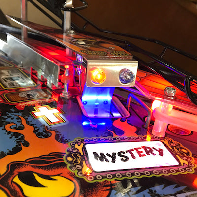 Metallica Pinball Mystery Hole LED