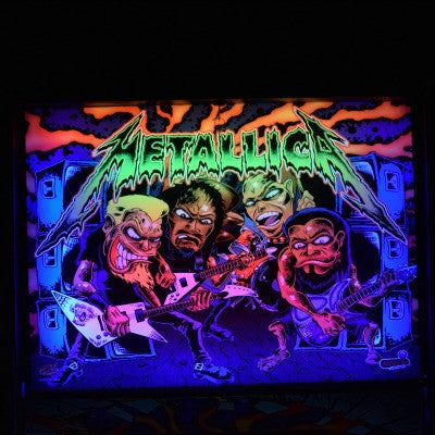 Metallica Pinball Custom Backbox Kit
