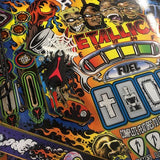 Metallica Pinball Spider Spotlight Cover Set - Mezel Mods  - 1