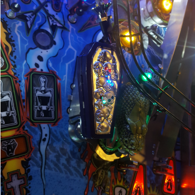Metallica Pinball Pro Lock Ball Coffin