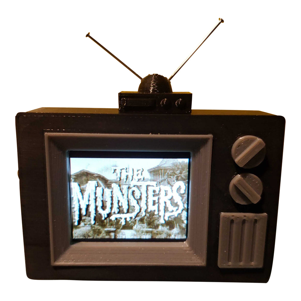 The Munsters Pinball TV Video Display Mod
