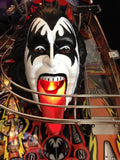 Kiss Pinball Demon Head Illuminated Mouth - Mezel Mods  - 3
