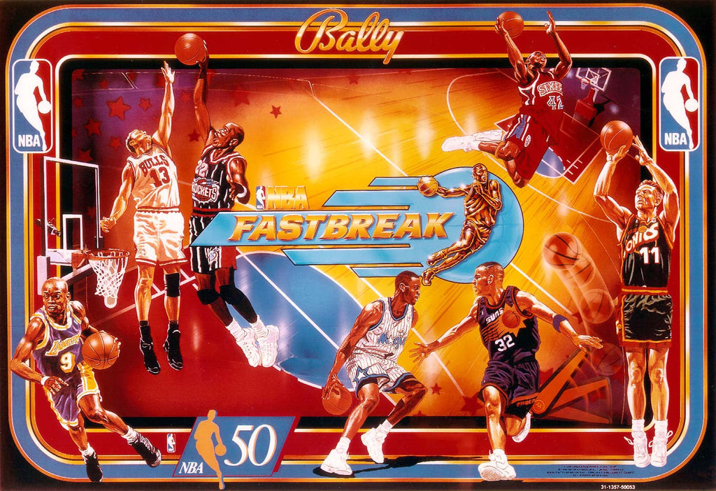 NBA Fastbreak Pinball Interactive Under-cabinet Light Kit