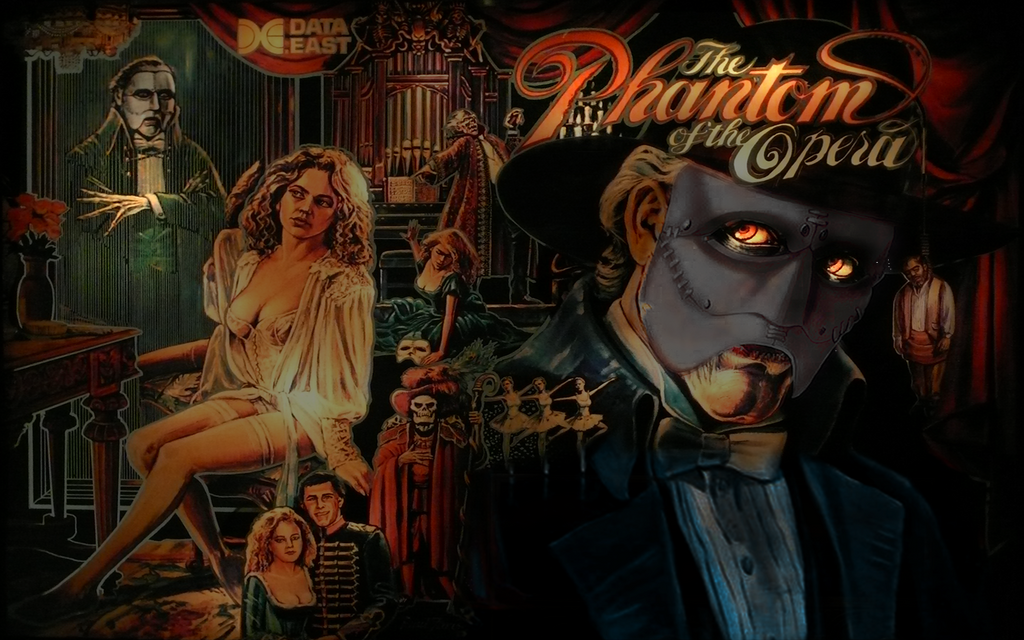 Phantom of the Opera Pinball