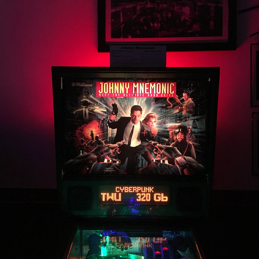 Pinball Backbox Cabinet Lighting Kit- Spooky Pinball