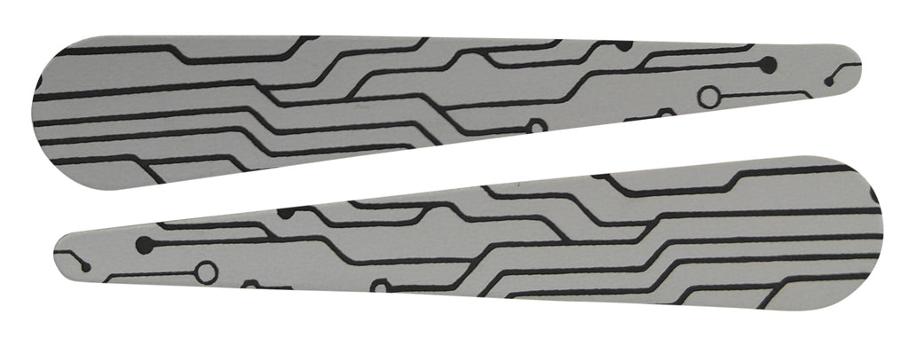 Circuit Board Flipper Bats (set of two) - Mezel Mods  - 3