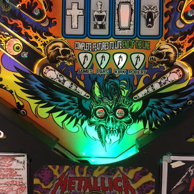 Pinball Trough Lighting Kit- Metallica - Mezel Mods  - 1