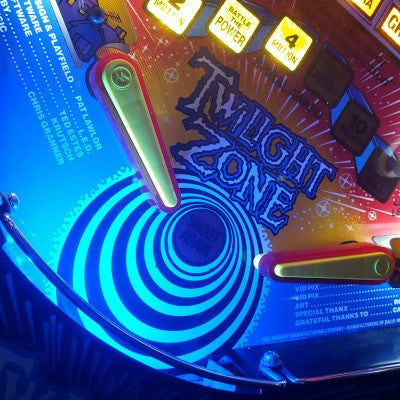 Pinball Trough Lighting Kit- Twilight Zone - Mezel Mods  - 1