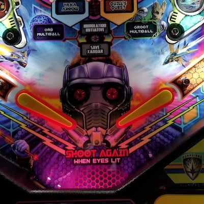 Pinball Trough Lighting Kit- Guardians of the Galaxy