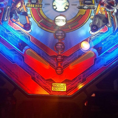 Pinball Trough Lighting Kit- Ironman - Mezel Mods  - 1