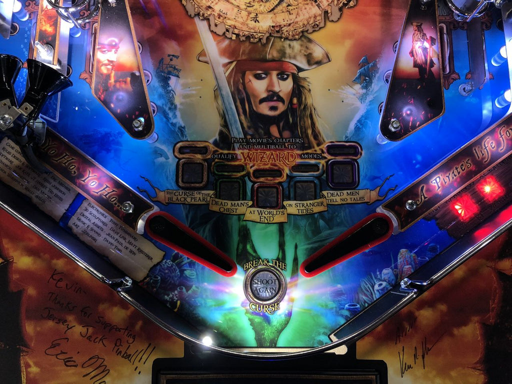 Pirates of the Caribbean Pinball-JJP Trough Lighting Kit