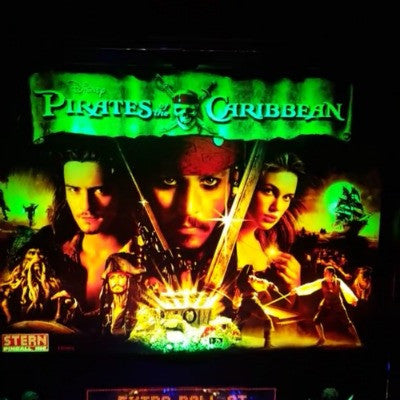 Pirates of the Caribbean Pinball Backbox Kit