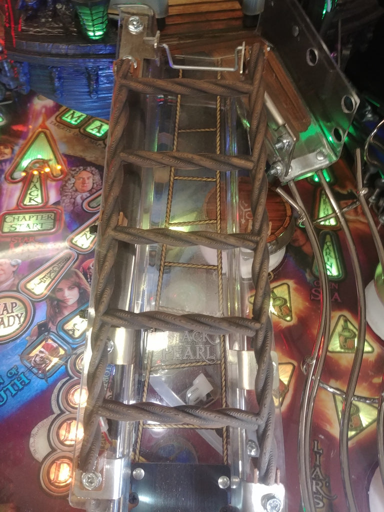 Pirates of the Caribbean Pinball Rigging Ladder