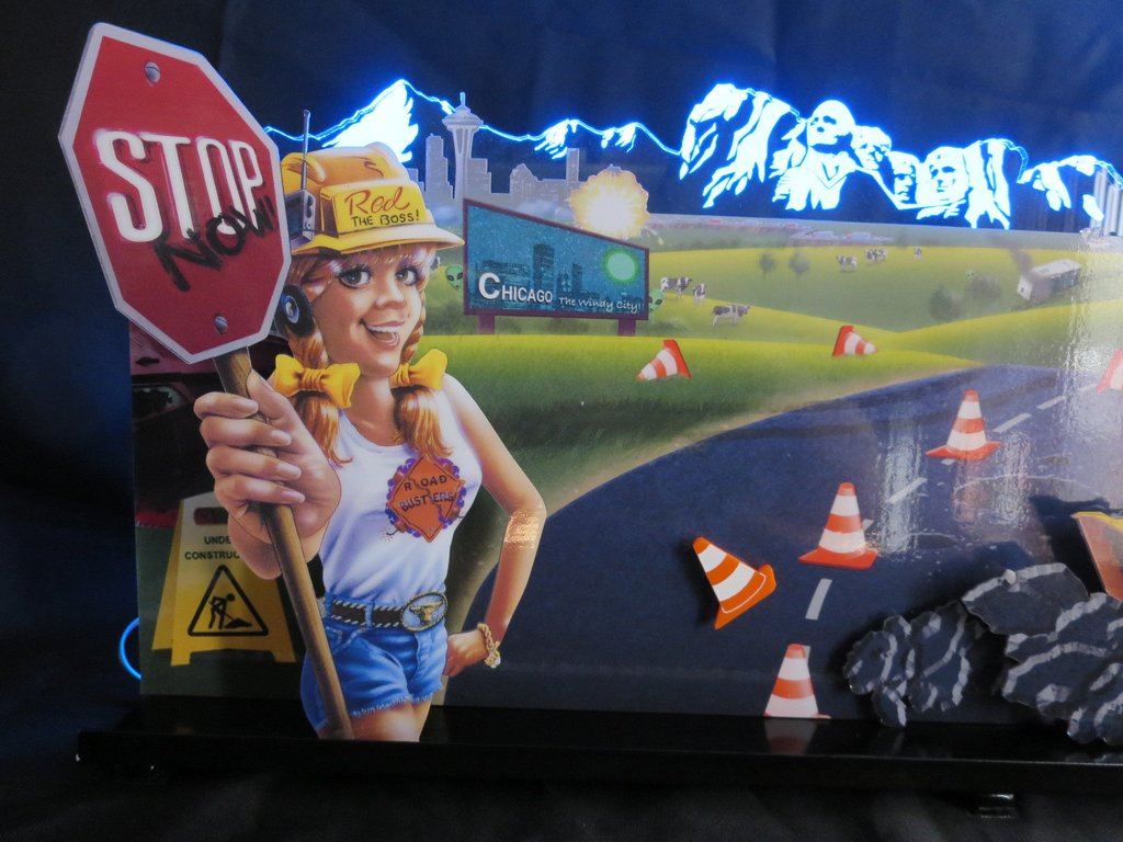 Road Show Pinball Topper