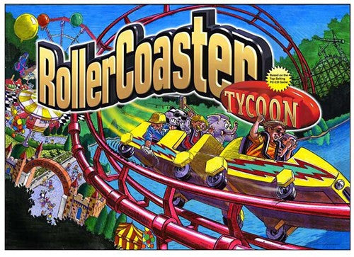 Roller Coaster Tycoon Pinball Interactive Under-cabinet Light Kit