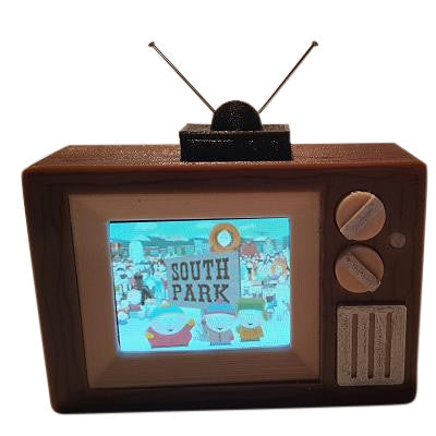 South Park Pinball TV Video Display Mod - Mezel Mods