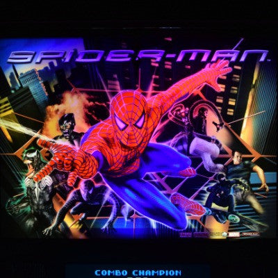 Spider-Man Pinball Custom Backbox Kit