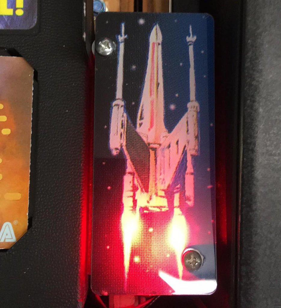Star Wars Trilogy Pinball X-Wing Plastic Illumination
