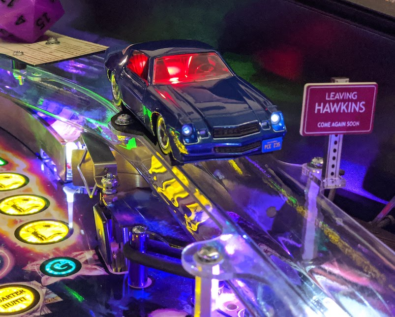 Stranger Things Pinball Billy's Camaro