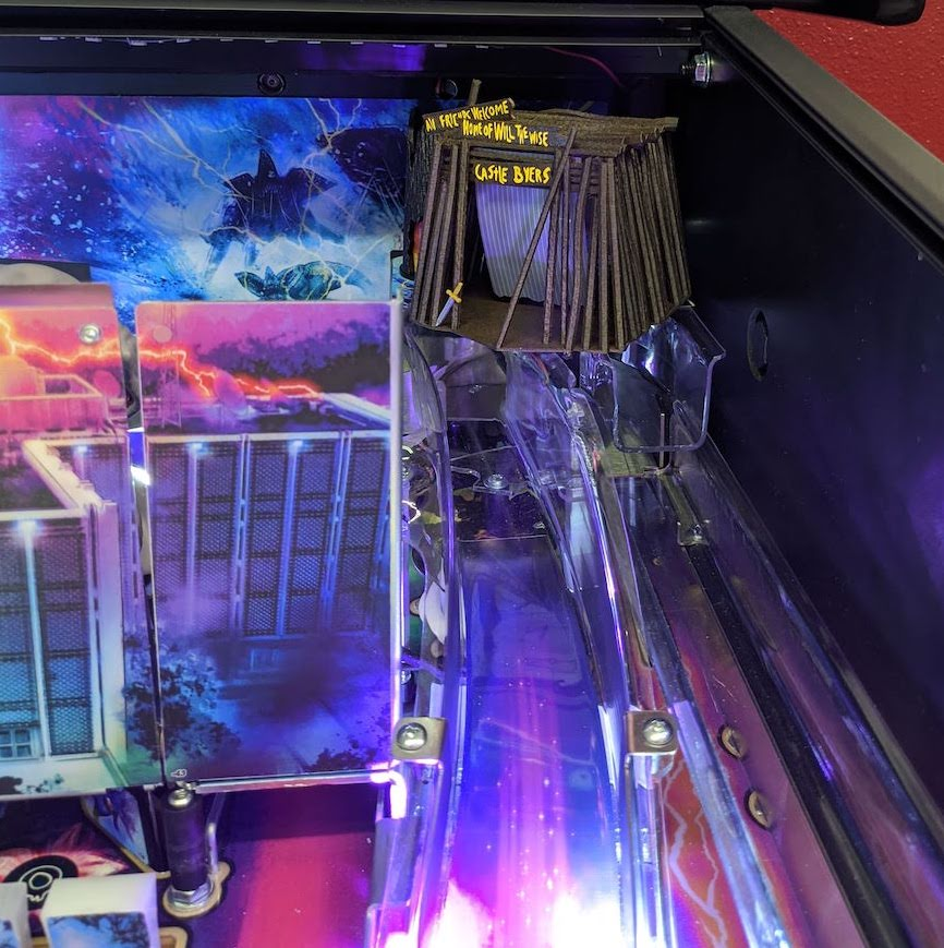 Stranger Things Pinball Castle Byers