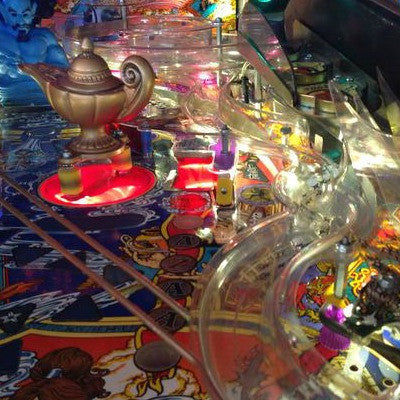 Tales of the Arabian Nights Pinball Bazaar Hole LED - Mezel Mods  - 1