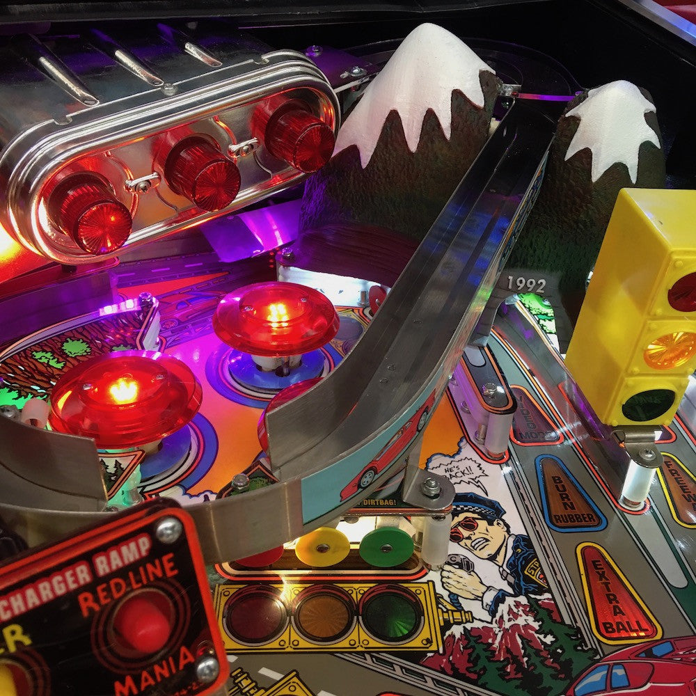 The Getaway Pinball Mountain