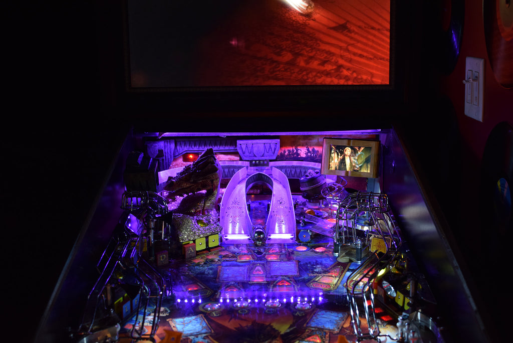 Hobbit Pinball Back Board RGB LED - Mezel Mods  - 2