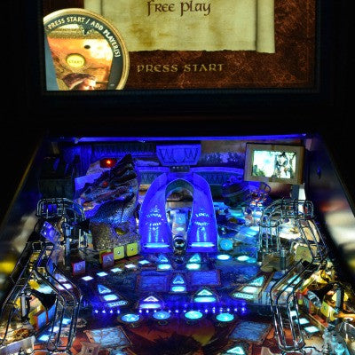 Hobbit Pinball Back Board RGB LED - Mezel Mods  - 1