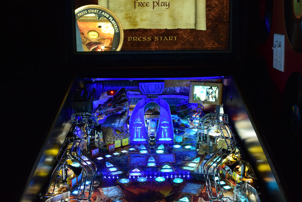Hobbit Pinball Back Board RGB LED - Mezel Mods  - 3