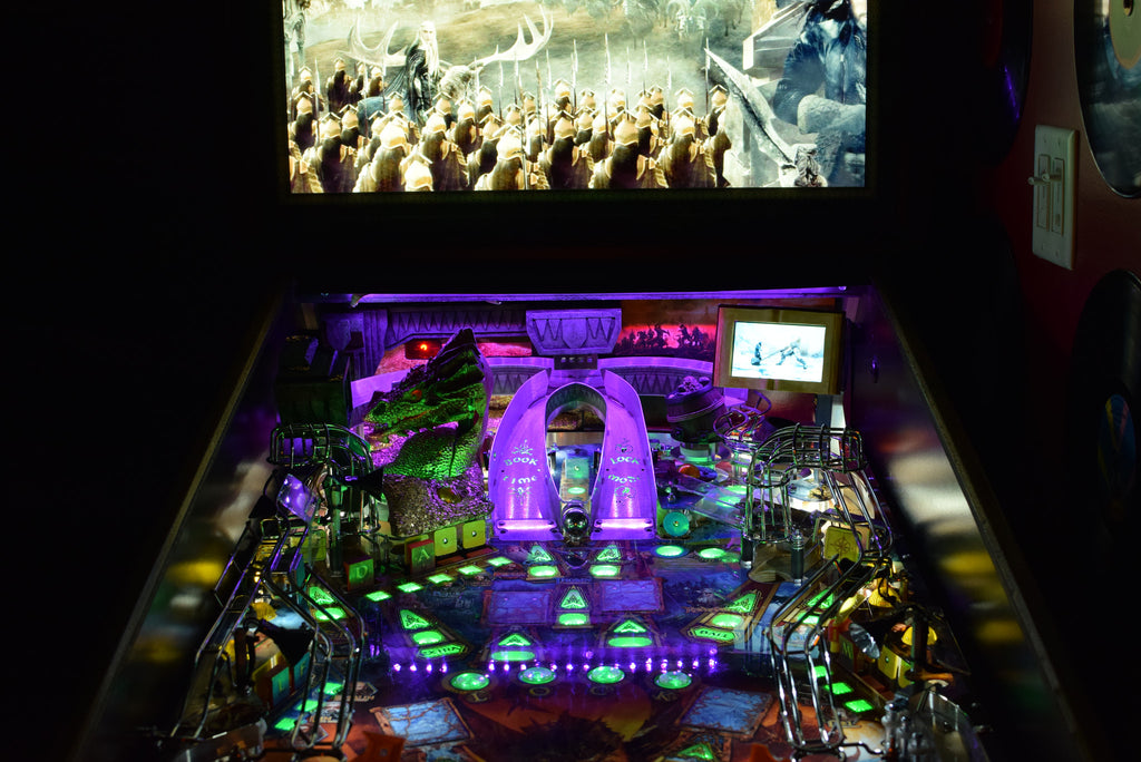 Hobbit Pinball Back Board RGB LED - Mezel Mods  - 4