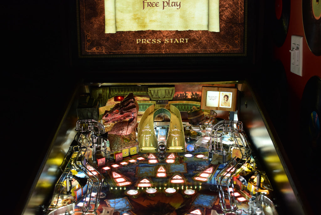 Hobbit Pinball Back Board RGB LED - Mezel Mods  - 5