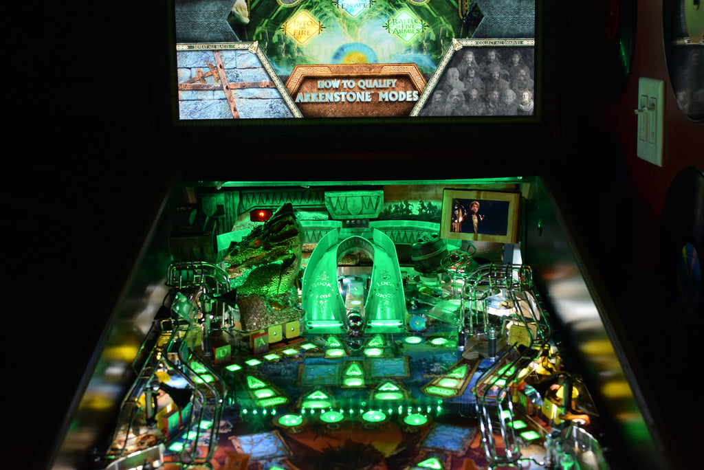 Hobbit Pinball Back Board RGB LED - Mezel Mods  - 6