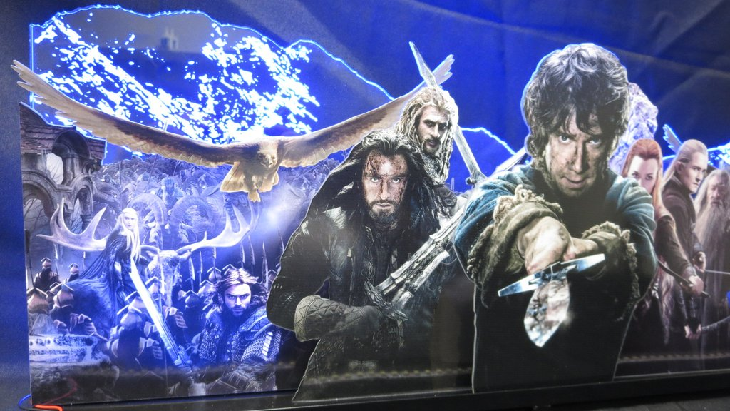 The Hobbit Pinball Topper